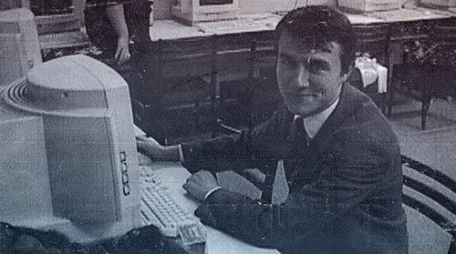 в компьютерном классе